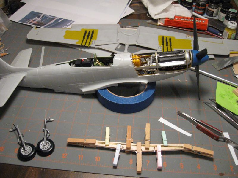 1  24 Airfix Mustang - Page 4 - Works In Progress