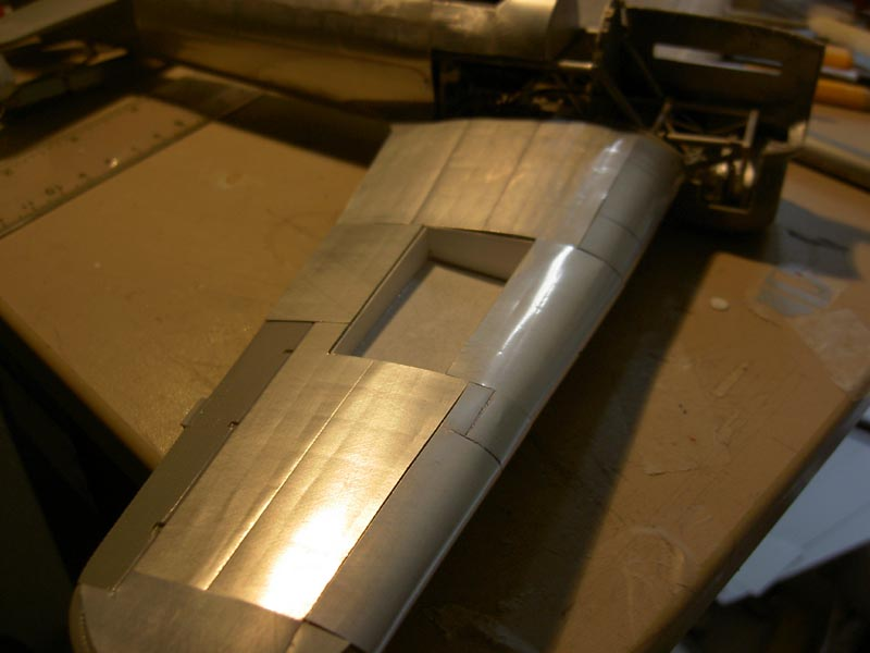 rivestire con la carta di alluminio - ModelingTime.com